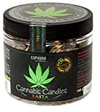 Euphoria Cannabis Bonbons Rasta (140 g) | Hartkaramellen mit Hanfgeschmack