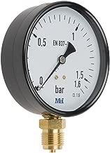 Mei 6005121100 Manómetro seco, Caja metálica, 100 mm