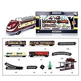 HENG Railcar Series 1:87 Jouets de Piste de Train de Simulation Electrique Jeu Dimitation pour...