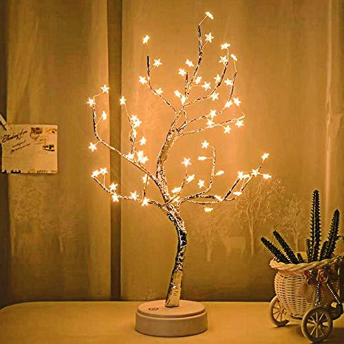OMNFAS LED Bonsai Tree Light DIY Branch Lights Artificial Light Tree 60...