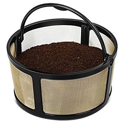 Geesta Coffee Filter for K-duo Coffee Basket for Keurig, Reusable Mesh Ground Coffee Basket Only for K-Duo Essentials and K-Duo Brewers Machine