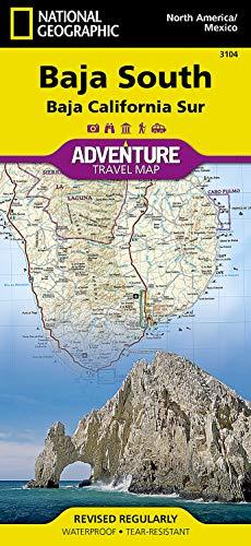 Baja California, South, Mexico: Travel Maps International Adventure Map: 3104
