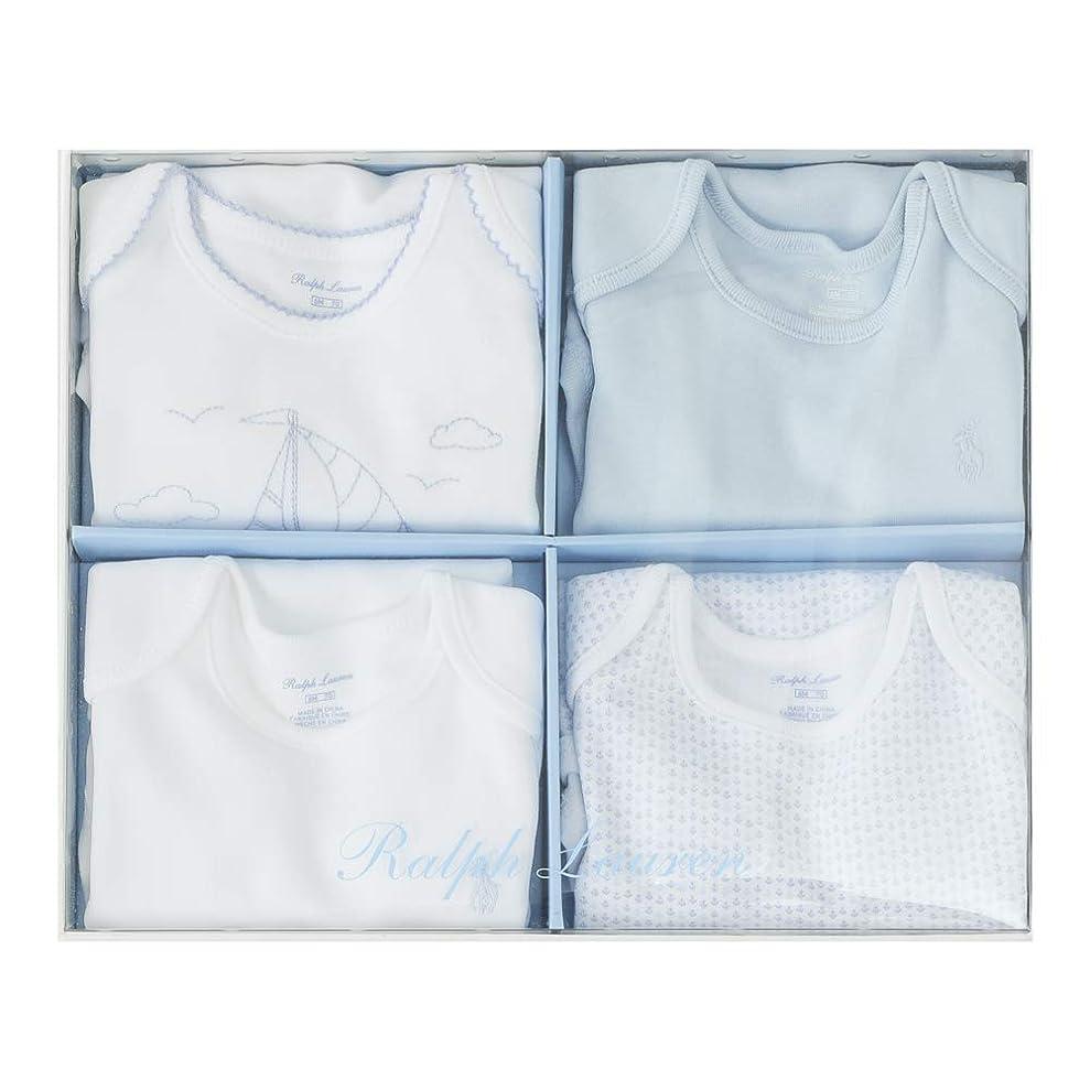 かどうかスナックお酒Polo Ralph Lauren/ポロ ラルフ ローレン Gift box (サイズ:6m、カラー:WHITE/BLUE ) [並行輸入品]