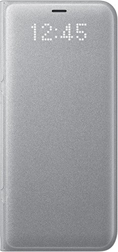 Samsung EF-NG950PSEGWW LED View Case pour Samsung Galaxy S8 - Argent