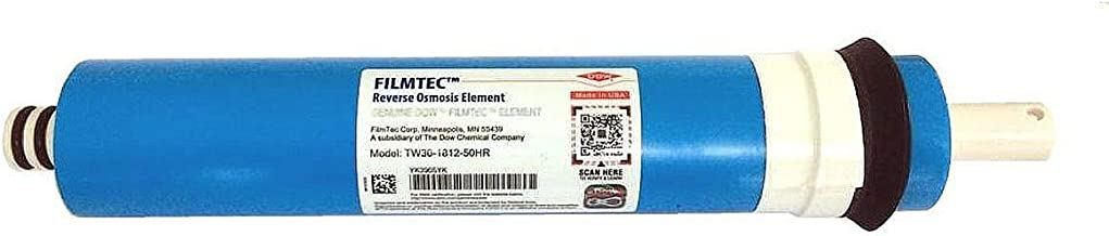 Dow Filmtec TW30-1812-50HR 50 GPD High Rejection TFC Replacement Membrane for Undersink Reverse Osmosis (RO) System