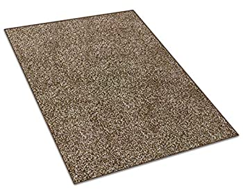 Koeckritz Custom Sized Area Rug  Color  Chocolate Chip  You Measure The Space and We ll Custom Cut Your Rug to Fit