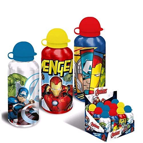 Cantimplora aluminio Vengadores Avengers Marvel surtido