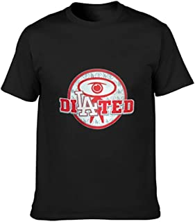 HTU Dilated Peoples FunnyPremium Comfortable Cotton Pattern t-Shirt Short Sleeve T-Shirt for Men