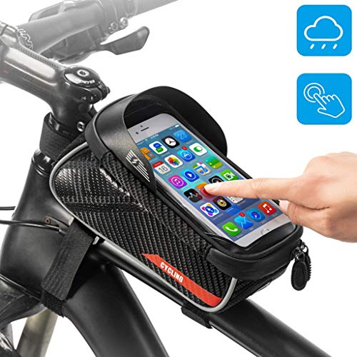 Bicycle Accessories Bicycle Bag For Large Screen Mobile Phone Below 6.0 Inches