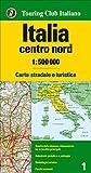 Italia centro nord 1:500.000. Carta stradale e turistica (Carte d'Italia 1:500.000)