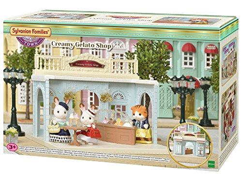 Sylvanian Families- Creamy Gelato Shop Mini muñecas y Accesorios, Multicolor (Epoch para Imaginar) , color/modelo surtido