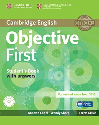 Objective First Student\'s Book with Answers with CD-ROM Fourth Edition