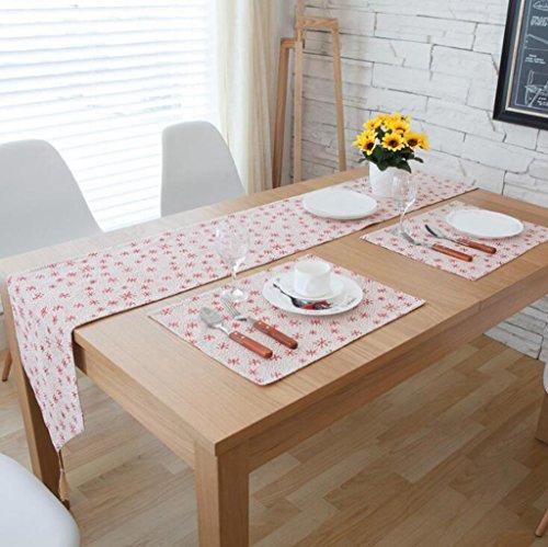 BiuTeFang Tafel Runner Tafel Runners Tafel, linnen, doek, TV kast, salontafel, tafel vlag Banket Party Decoratie 30X180cm