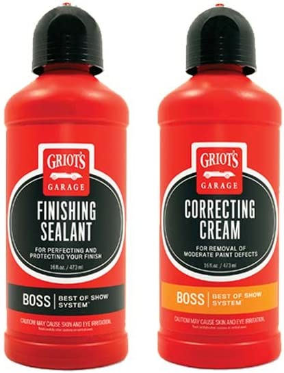 Griot's Garage BOSS Correcting Popular products Cream and Combo Sealant Finishing wholesale