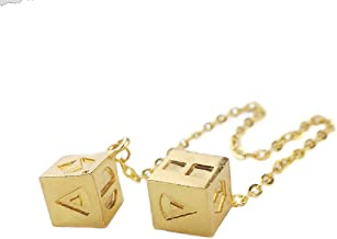 Lucky Dice Lucky Charms Jewelry for SW Cosplay Costumes Replica Accessories