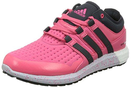 adidas Damen Climaheat Sonic Boost Laufschuhe, Pink (Super Pink F15/Dark Grey/Clear Grey S12), 40 EU