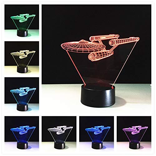 Only 1 Piece New3d Lamps Remote Control Led Novelty Night Lights USB Glowing Childs Gift USB Led 3D LampNight Lamp