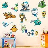 The Octonauts Wall Sticker Children's Cartoon Bedroom...