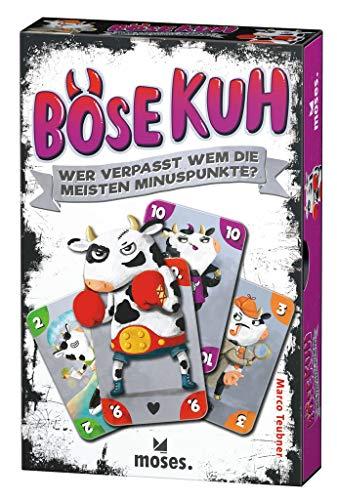 Böse Kuh | Wer verpasst WEM die meisten Minuspunkte? | Lustiges Kartenspiel | Für die ganze Familie | Ab 8 Jahren