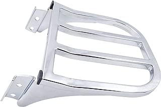 Triple Polished Chrome Sissy Bar Backrest Detachable Luggage Rack For Harley Softail Heritage Dyna Sportster FLSTF FLST FLSTC FLSTSC