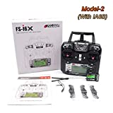 Drone Start Store Flysky FS-i6X 10CH 2.4GHz AFHDS RC Trasmettitore con...