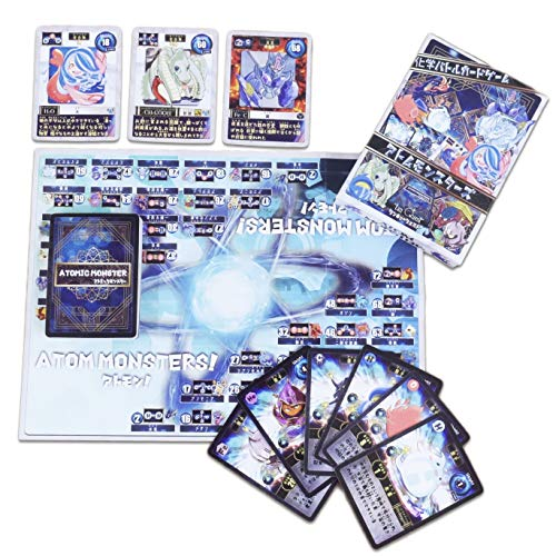 アトモン遊びながら元素記号を学習できる化学バトル知育ゲーム!