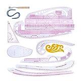 LOREMYI - Juego de reglas de costura para hacer tú mismo, juego de...