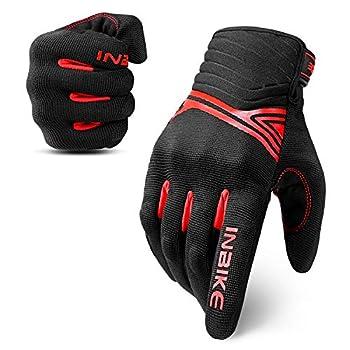 red black motorcycle gloves