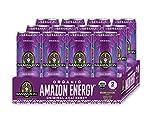 Sambazon Organic Amazon Energy Drink, Original Acai Berry, 12 Ounce (Pack of 12)