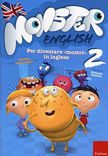 Monster english. Per diventare «mostri» in inglese. Con adesivi: 2