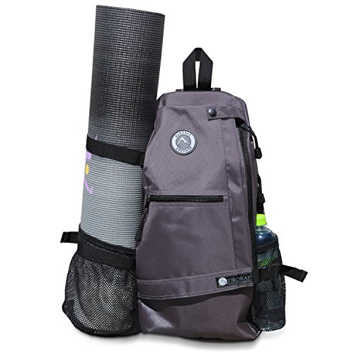 Aurorae Yoga Mat Bag. Multi Purpose Cross-Body Sling Back Pack. Mat Sold...
