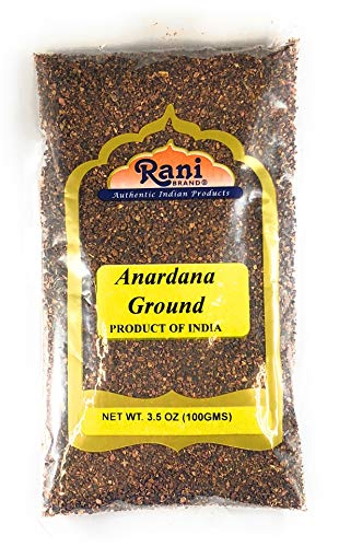 Rani Anardana (Pomegranate) Ground, Indian Spice 3.5oz (100g)