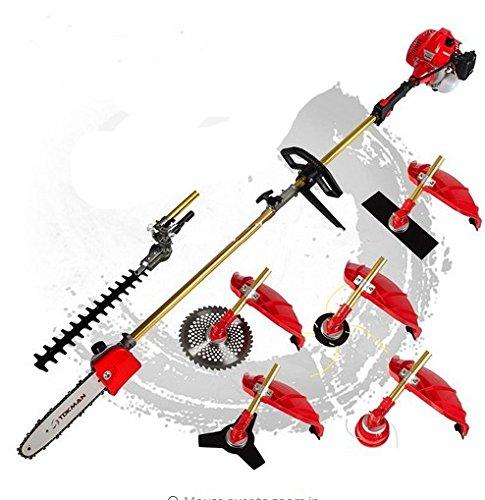 Multifunción GOWE 52cc 2-strokes 7en 1Multi cepillo cortador cortacésped...