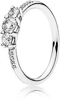 f791d46a9 Pandora Ring 196242CZ-52 Silver Zirconia Fairy Tale
