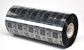 Zebra 02100BK11045 Thermal Transfer Wax Ribbon (4.33