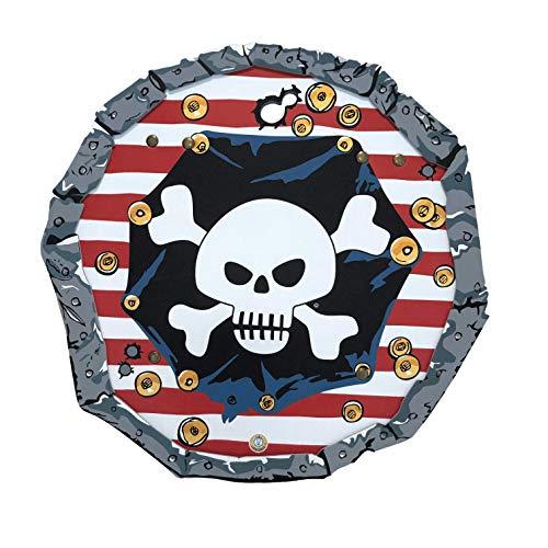 Liontouch 227LT Pirat Rotstreifen Schild | Spielzeug aus Schaumstoff für Kinder