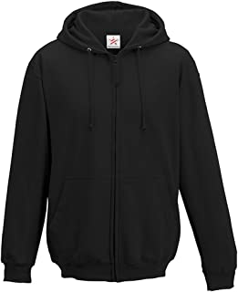 Plain Zip up Hoody Hooded Top Hoodie for Mens and Ladies Zipper Jacket Hoodies Sweatshirts