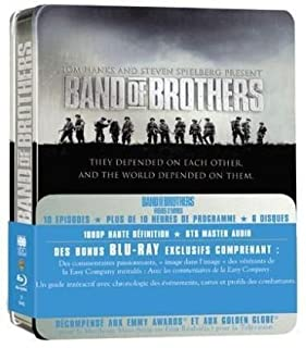 Band of Brothers - Frères d'armes - Coffret intégral [Blu-ray] (B001G53K6Y) | Amazon price tracker / tracking, Amazon price history charts, Amazon price watches, Amazon price drop alerts