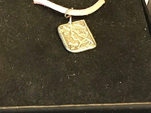 2. Klasse Stempel tg136aus englischen Zinn auf einem 45,7cm Pink Cord Halskette geschrieben von uns Geschenke für alle 2016von Derbyshire UK