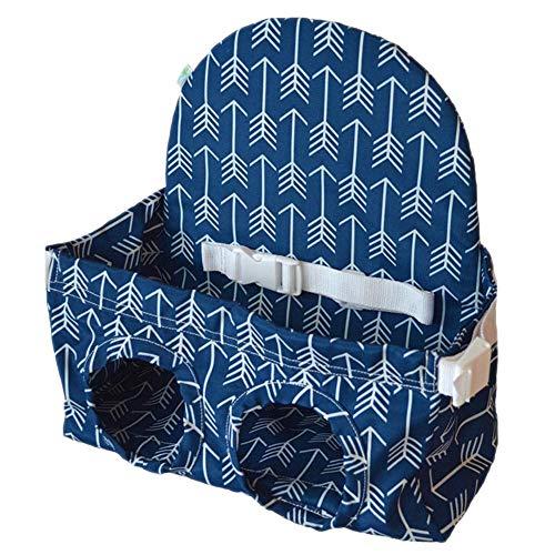 Baby Einkaufswagen Sitz - Einkaufssitz für Kinder, voller Sicherheitsgurt, maschinenwaschbar (unter 4 Jahren)
