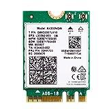 Leeofty Adaptador inalámbrico de Doble Banda 2400Mbps WiFi 6 AX200 NGFF M.2 Bluetooth 5.1 Tarjeta WiFi AX200NGW Adaptador WiFi6 2.4G / 802.11ac / AX
