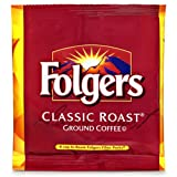 FOLGER'S Coffee Regular In Room, .6-Ounce Boxes (Pack of 200)