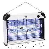 infinitoo Lampe Anti-Moustique Electrique, 20W UV Tueur de Moustiques Intérieur...