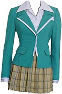 Cosplay Costume Moka Akashiya Uniform Dress Full Set