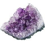 mookaitedecor Piedra amatista natural en bruto de piedra preciosa, amatista, cristal, piedra natural, piedra decorativa (500-600 g)