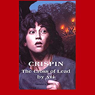 Crispin audiobook cover art