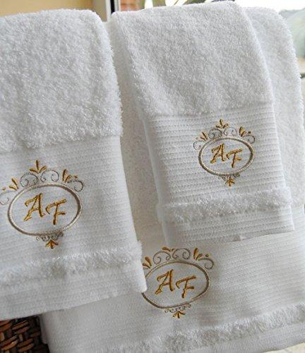 Calidad Superior personalizado juego toallas baño