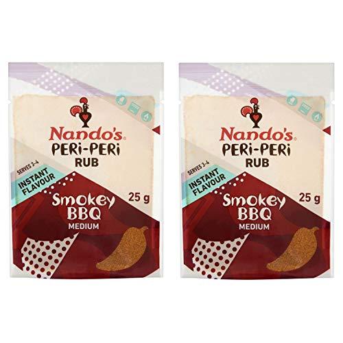 Nando's Peri-Peri Flavour Rub 25g 2er-Packung