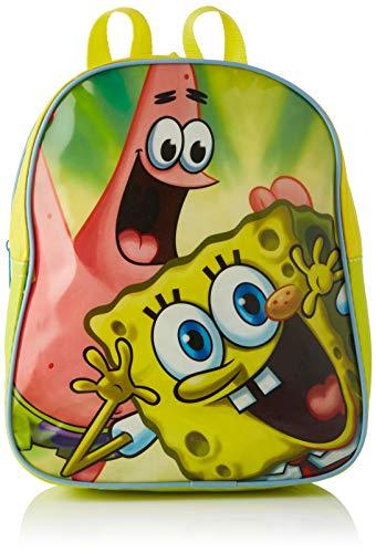 Nickelodeon - 11958 - Jeu de Plein Air - Sac de Sport Nickelodeon Bob l'éponge x1 - 2 Modèles - 37x23x20 cm