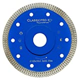 Porcelain Tile Turbo Thin Diamond Dry Cutting Blade/Disc Grinder Wheel 4 inch-7 inch 115-180mm (5 Inch 125mm)